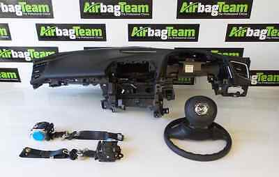 Mazda 3 2014 - On Airbag Air Bag Kit Dashboard Driver Passenger Seatbelt ECU