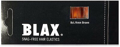 Blax Hair Elastics 4MM Brown Blax Hair Elastics