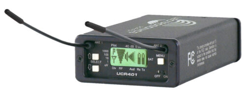 Lectrosonics UCR401 Receiver, Block 19, New, with Factory Warranty