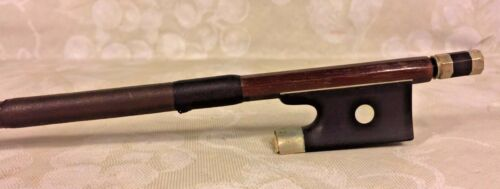 Antique Wittmer Violin Bow Germany Round Shaft