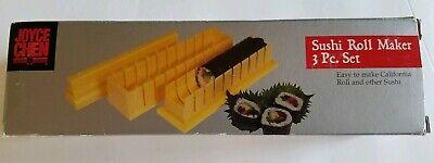 Sushi Roll Maker. Joyce Chen 3 Pc.
