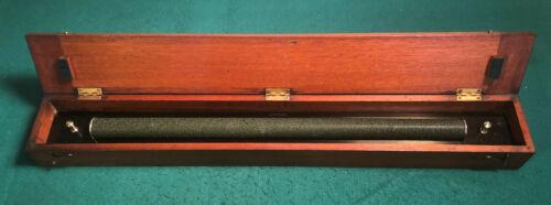 """24"""" ARCLIGHT Brass Parallel Rolling Ruler W OTTWAY & CO Ealing London"""