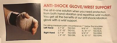 Snap-on Anti-shock Glovewrist Support Tsg10rl - Large Right Hand