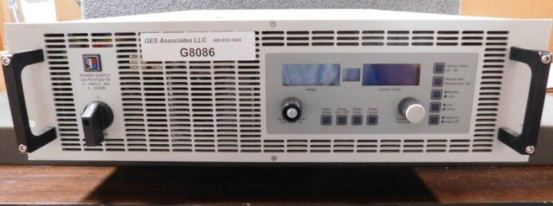 ELEKTRO-AUTOMATIK EA- PS 81000-30 Power Supply