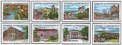 Definitive Postage Stamps - TURKEY 2007, DEFINITIVE POSTAGE STAMPS, TURKISH PROVINCES - 1, MNH