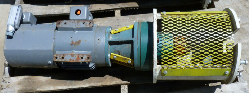 Sumitomo Speed Reducer PHF115 & Baldor 2hp Mtr IDM3587T Used T/O