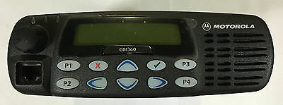 Motorola Gm360 Uhf 403-470mhz Mobile Radio Mdm25rhf9an5ae