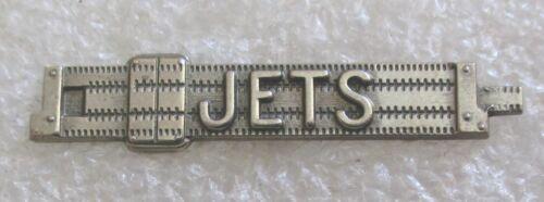Vintage JETS Junior Engineering Technical Society Member Slide Rule Lapel Pin