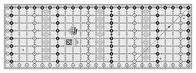 "Creative Grids 8 1/2"" x  24 1/2"" Rectangle Sewing and Quilting Ruler"