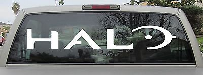 Купить Halo Sticker Full Logo Sticker Window Wall Decal iPhone - Choose Size and Color с доставкой