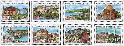 Definitive Postage Stamps - TURKEY 2007, DEFINITIVE POSTAGE STAMPS, TURKISH PROVINCES - 2, MNH