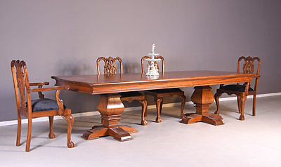 Antik Esstisch Klostertisch Gesindeltisch Mahagoniholz 300cm Tisch