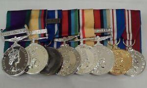 Ireland-Iraq-IFOR-Sierra-Leone-Afghanistan-Jubilee-Court-Mounted-Medals