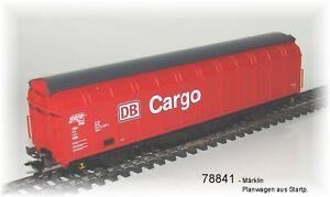de-Marklin-78841-Solo-un-vagon-de-paredes-correderas-034-Cargo-034-de-DB-NUEVO