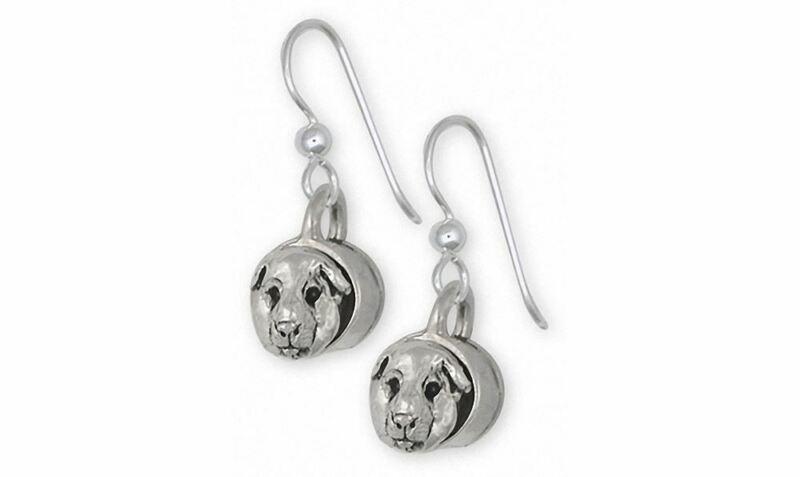 Guinea Pig Earrings Jewelry Sterling Silver Handmade Piggie Earrings GP12-E