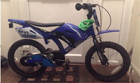 Kids motobike scrambler boys bike 16""