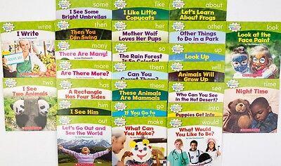Level C Nonfiction Sight Word Readers Guided Reading Preschool Kindergarten Set