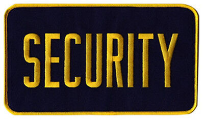 Medium Security Patch Badge Emblem 5 Inches X 7 12 Inches Goldnavy
