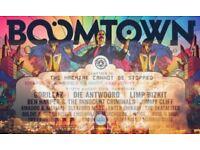 1x Boomtown Ticket 170