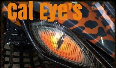 Yamaha Raptor YFZ 450 Raptor 700 CAT Eyes HeadLight Covers NEW
