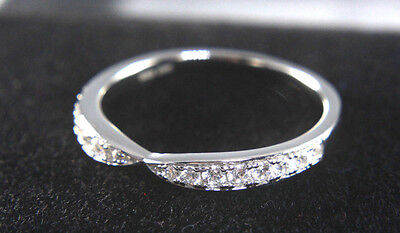 Engagement Anniversary Ring 14K White Gold Round Cut 0.25 Ct New Diamond Jewelry