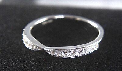 Engagement Anniversary Ring 14K White Gold Round Cut 0.25 Ct New Diamond Jewelry
