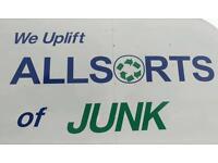 Allsorts of Junk Waste & rubbish removal service. Alternative skip hire.