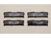 G.Skill Ripjaws Z 16GB Quad Channel DDR3 memory kit (F3-17000CL9Q-16GBZH)