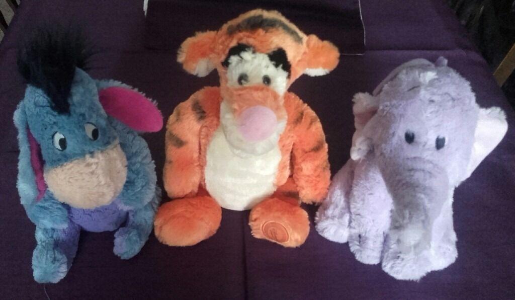Original Disney Shop Disney Soft Toys.