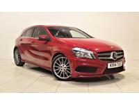 MERCEDES-BENZ A-CLASS 2.1 A220 CDI BLUEEFFICIENCY AMG SPORT 5d AUTO 170 (red) 2014