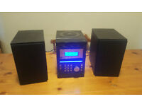 HIFI STEREO SYSTEM (CD, USB, SD memory card, Radio, cassette). Delivery options available