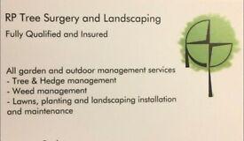 Garden Landscaping/Tree surgery