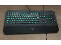 Razer DeathStalker Gaming Keyboard Green Backlight Expert Gaming Fully Programmable