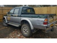 Mitsubishi l200 double cab 2.5 turbo diesel moted