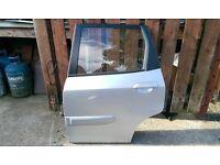 honda jazz rear passenger side door in silver 2001-2005