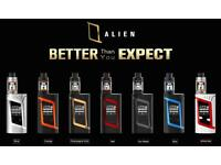 SMOK ALIEN KIT 220w with two 18650 batteries
