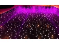 20x24 Black Grumpy Joe LED dancefloor £5200 O.N.O