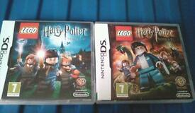 LEGO HARRY POTTER GAMES FOR DS