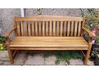 New Wooden Garden Bench