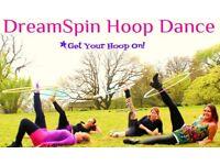 Hula Hoop Beginners 6 week course Monday 3rd September 6pm