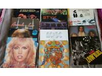 Vinyl records in excellent/mint condition