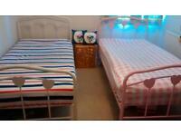 2 children's single beds