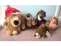 Hedgehog soft toy bundle - excellent condition!