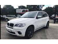 2011 BMW X5 30D M SPORT XDRIVE WHITE **FINANCE**