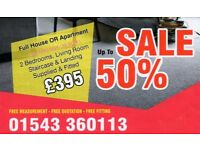 CARPETS AND FLOORING (SALE ON NOW)