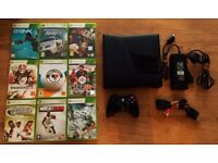 Microsoft Xbox 360 S (Slim) Gaming 4 GB Hard Drive Console Black Kinect Ready
