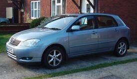 Toyota Corolla Tspirit VVTI 1.6 Petrol 2002