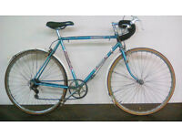 """Mens Road Racing Bike Size L 21"""" Serviced and Fully Working Brand new gel saddle"""