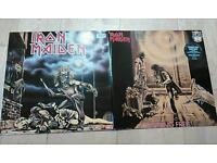 Iron Maiden First Ten Years Vinyl Running Free Women in Uniform