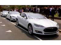 Tesla Wedding Car Hire in Scotland - Ecosse EV